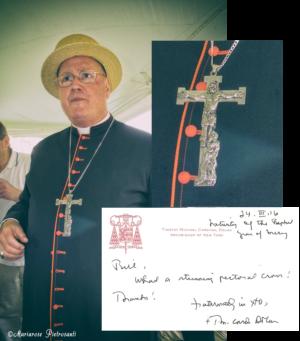 Cardinal Timothy Dolan Pectorla Cross